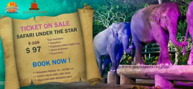 SPECIAL PRICE SAFARI UNDER THE STAR BALI